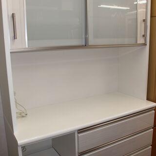 美品 ニトリ 食器棚 キッチンボード (ポスティア 120) ★...