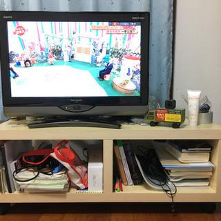 液晶テレビシャープ26インチとテレビ台