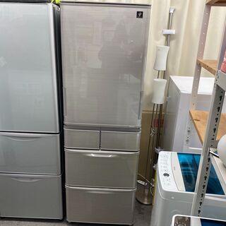 保証付き シャープ 冷蔵庫 SJ-W412D-S   リサイクル...