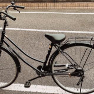 自転車27インチ 黒