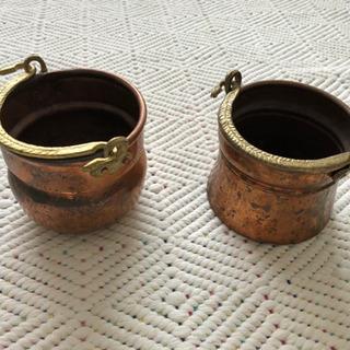 銅製小物入れ