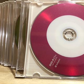 未使用 DVD-R 4.7GB (9枚セット)