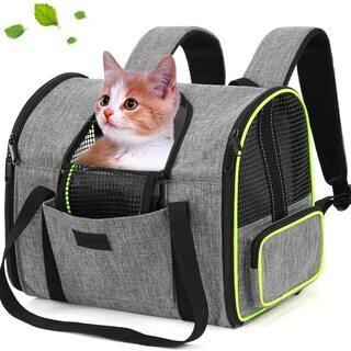 最新型 ペットキャリーバッグ 猫 リュック 犬 3WAY 広幅肩ベルト