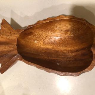 木製 パイナップル型の器