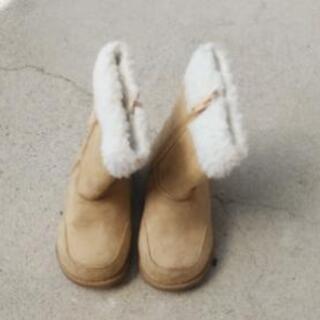 ブーツ 茶色