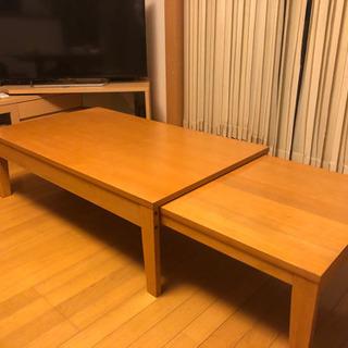 【お取引中】ベルメゾン 座卓 伸縮ローテーブル