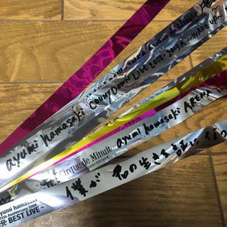 浜崎あゆみグッズ 銀テープ ポストカード