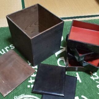骨董品🤤お重四段🤗🤗🤗