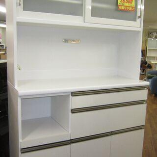 R083 国産 KOGA 食器棚・レンジボード カップボード 幅...
