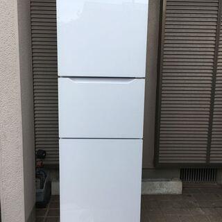 2018年製 美品 TWINBIRD 3ドア 冷凍冷蔵庫199L...