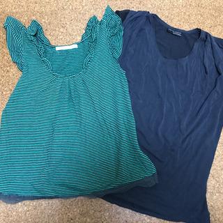 Tシャツ2枚、タンクトップ、ホルダーネック