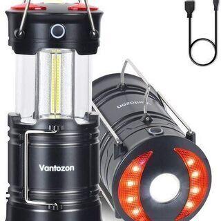 【新品】LEDランタン 高輝度 キャンプランタン usb充電式 ...