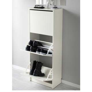 IKEA ビッサ 靴箱