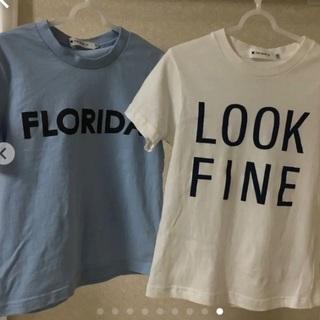 【120】TK キッズ Tシャツ 2枚セット【ワケあり】