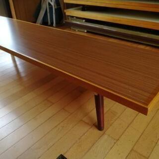 折りたたみ式ローテーブル(長机)
