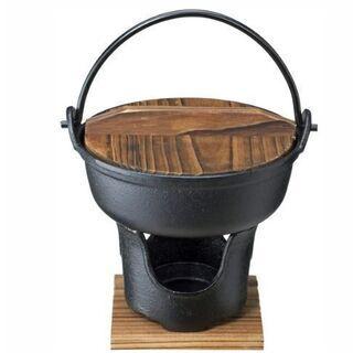 新品未使用品 旅館気分で いろり鍋コンロセット16cm