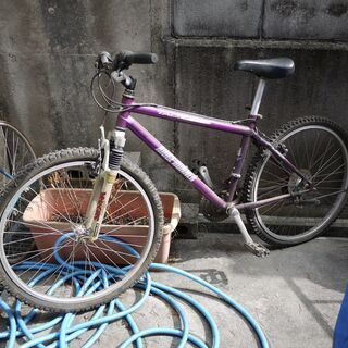 昭和のマウンテンバイク アルミ 日本製 ミヤタ 整備必要 成人用