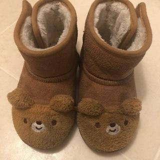 くま 茶色ブーツ 15cm