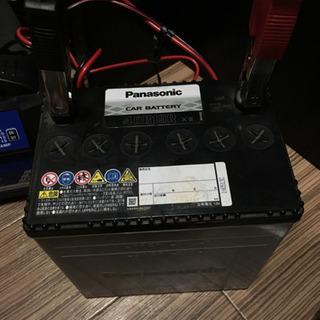 パナソニック自動車用バッテリー40B19R 中古フル充電