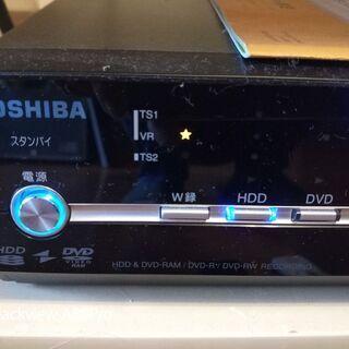 東芝 RD-S300 HDD&DVD地デジレコーダーリモコン付