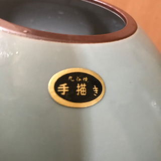 久谷焼 手描き 花瓶