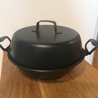 ベルモント鉄製燻製鍋 27センチ IH対応