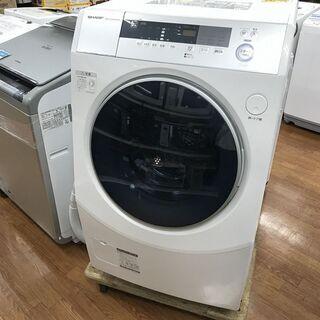 安心の一年保証!SHARPのドラム式洗濯乾燥機あります!ES-Z...