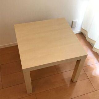 IKEAのサイドテーブル(LACK)使ってください!