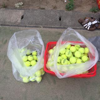使用済みテニスボール