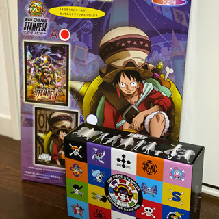 ONE PIECE STAMPEDE 3Dアートパネル&ジャンボ...