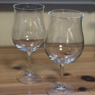 ENOTECAのワイングラス2個セット