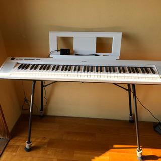 ヤマハ キーボード 鍵盤 NP-32WH 付属品込み6点セット