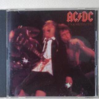 ♪ハードロック好きな人に中古AC/DC流血ライヴ/ギター殺人事件