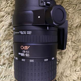 SIGMA  170ー500mm F5.6ー6.3 APO Ca...