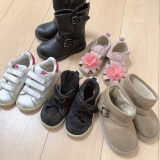 女の子 靴5足セット
