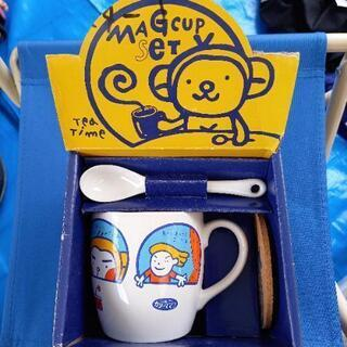 おさるさん マグカップ 未使用