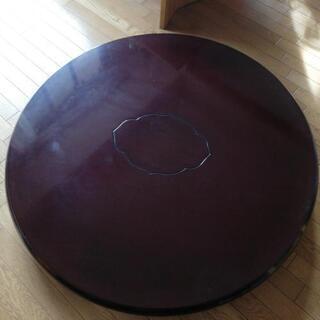 円卓 ローテーブルの画像