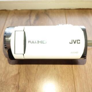 JVC・Victor◆ビデオカメラ/GZ-E180-W(白)