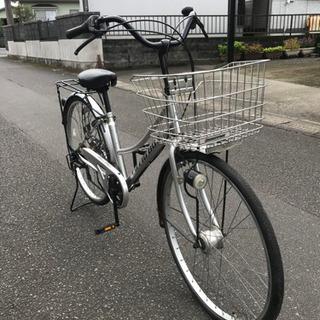 【快適】26インチ・シティーサイクル・オートライト・6段ギヤ・中古