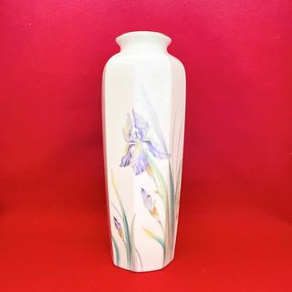 菖蒲の花瓶 壺 陶器