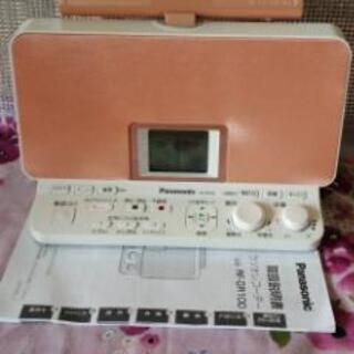 ラジオレコーダー美品✨パナソニック