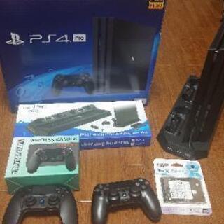 【ネット決済・配送可】PS4 Pro 1TB SSD1TB換装 ...