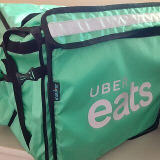 【ネット決済・配送可】Uber Eats バッグ 緑 グリーン ...