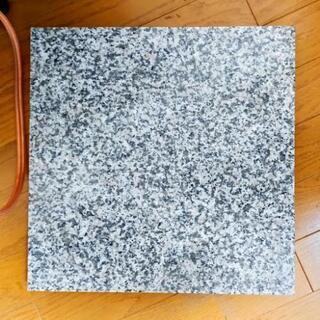 白御影石スピーカボード 35×35×3cm 2枚1セット
