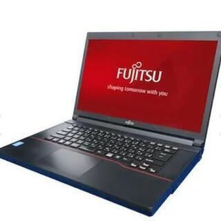 富士通中古ノートパソコンWindows10 高速第三世代Core...