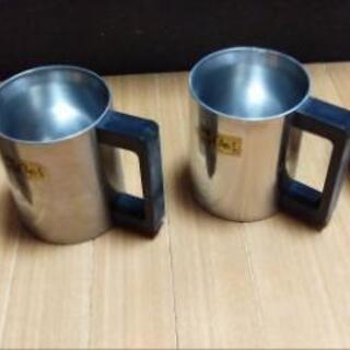 ステンレス製マグカップ 4個