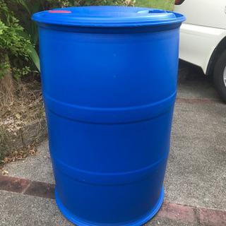 ①『再入荷』 ポリドラム 200L  ガーデンの水溜め用などに!...