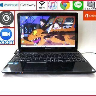 Gateway メモリ4GB HDD64GB ノートパソコン/w...