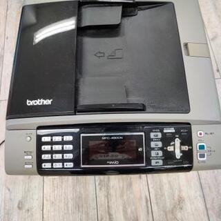 ブラザー FAXコピー機 MFC490CN 無料