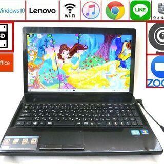 Lenovo メモリ4GB 新品SSD 128GB ノートパソコ...